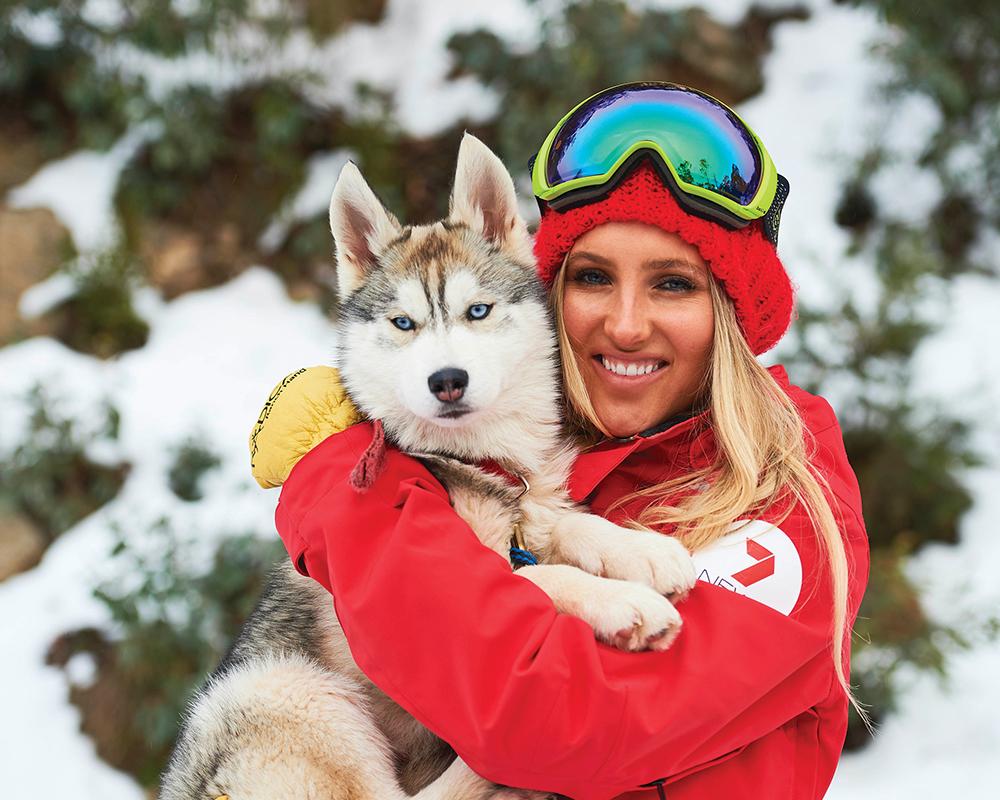 Buller Holidays Husky Snow Dog